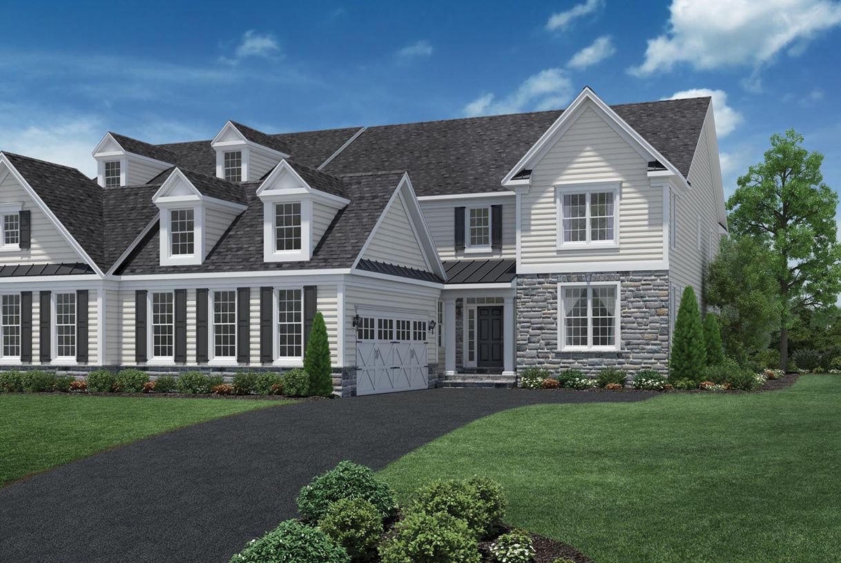 Farmhouse Newtown Newtown Square New Homes New Construction Home