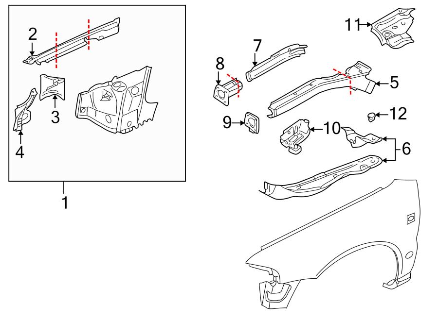 1996 audi a4 Motor diagram