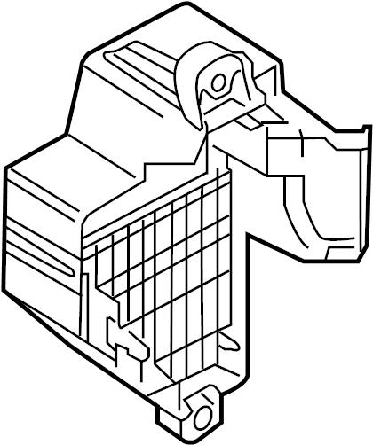 2003 vw passat wagon fuse box location