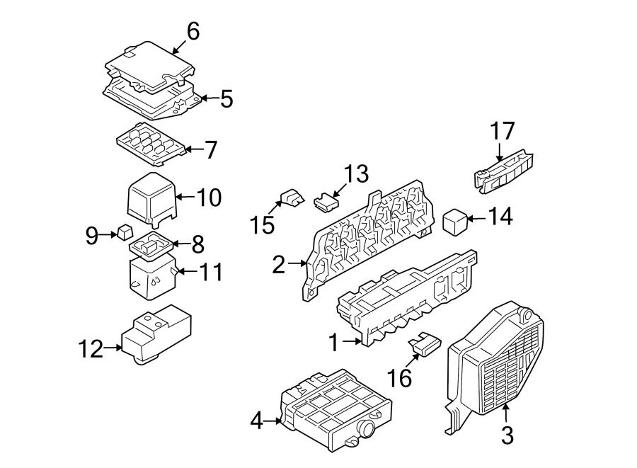 2003 vw beetle relay diagram