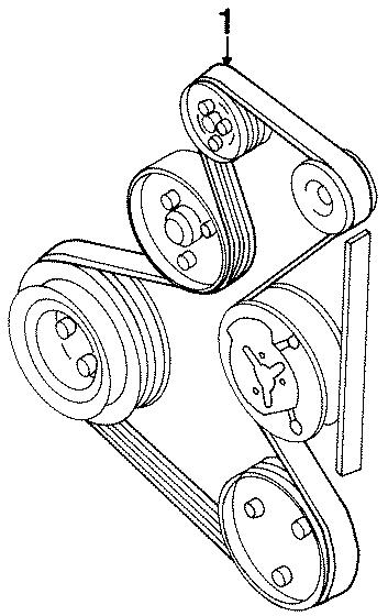volkswagen jetta alternator belt diagram