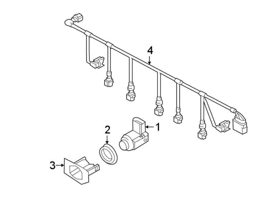 touareg trailer wiring harness