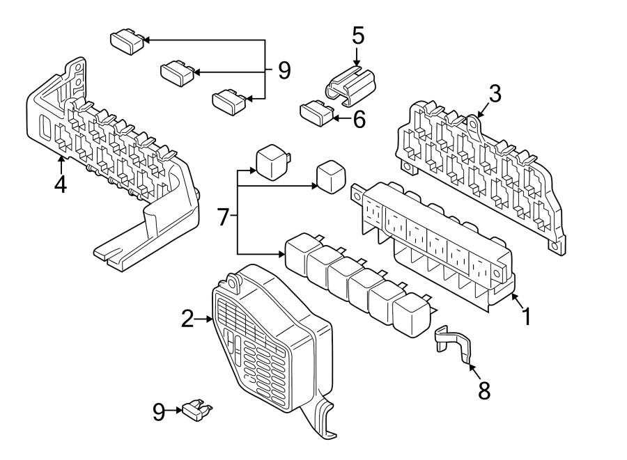 1998 passat wagon fuse diagram