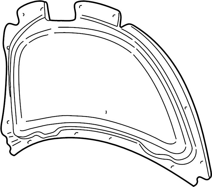 exterior volkswagen engine cover diagram