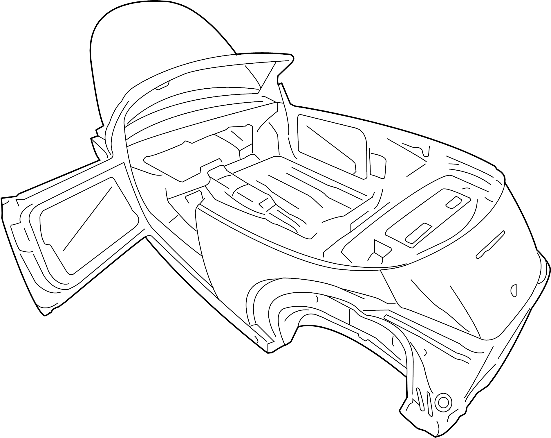 2003 volkswagen beetle body parts diagram