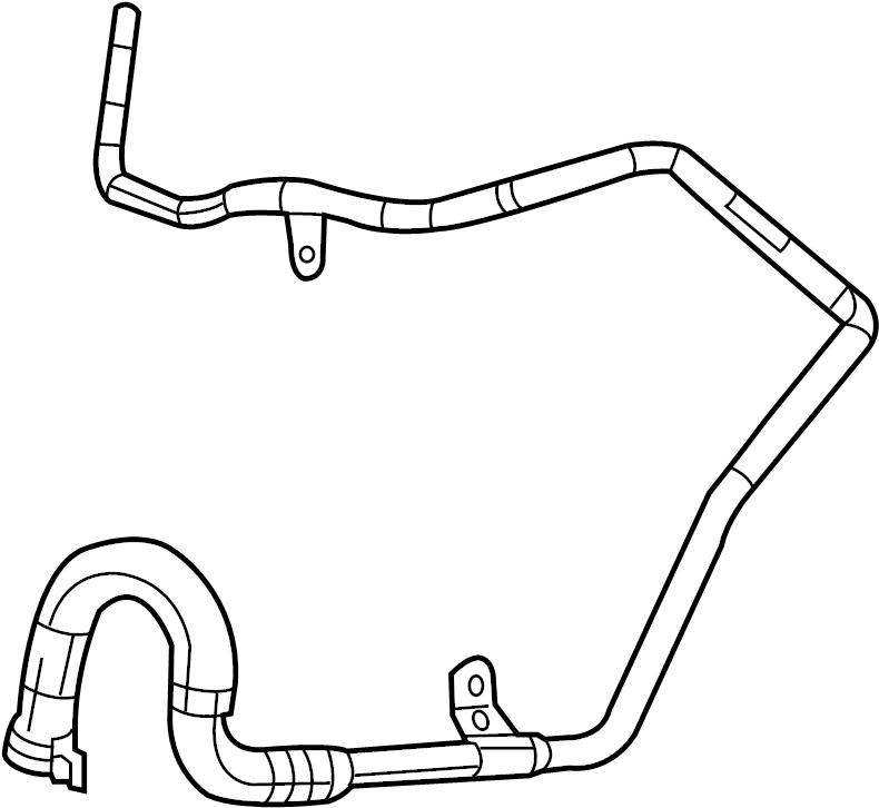 volkswagen engine coolant bar