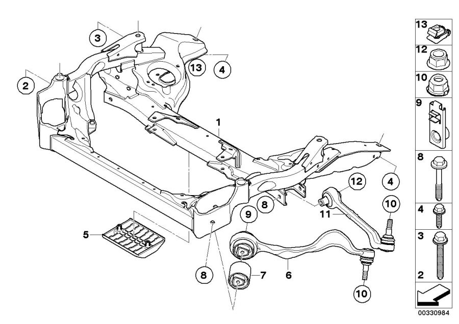 bmw brakes diagram