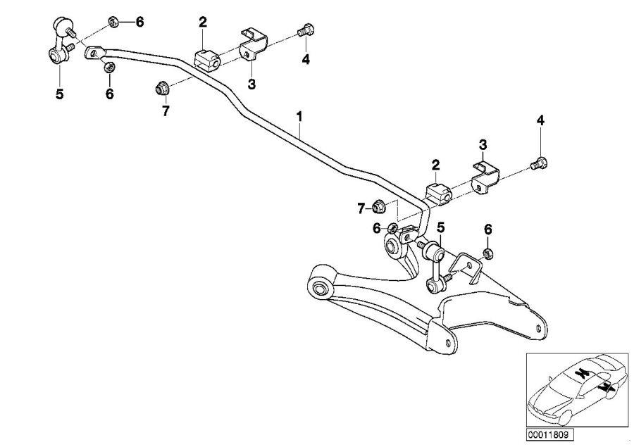 2007 bmw x3 Motor diagram
