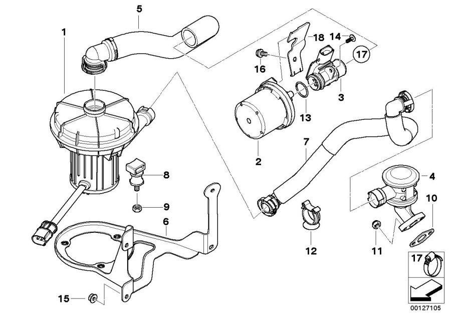 bmw 525i engine diagram battery