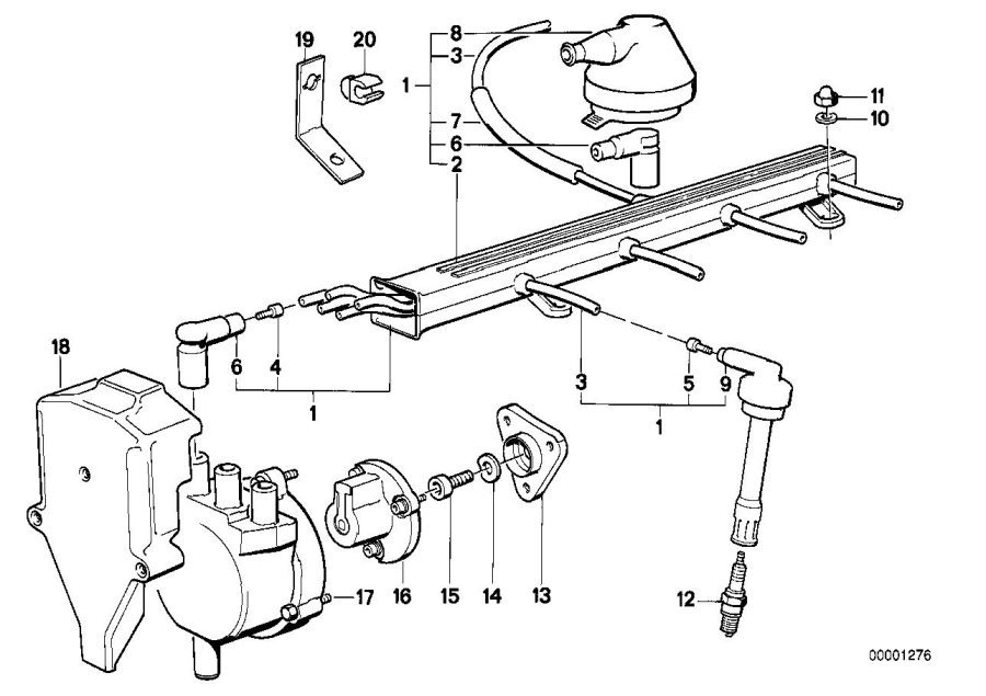1991 bmw e30 wiring diagram