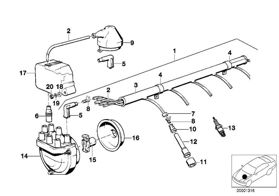 bmw e24 633csi wiring diagram 1983 1989