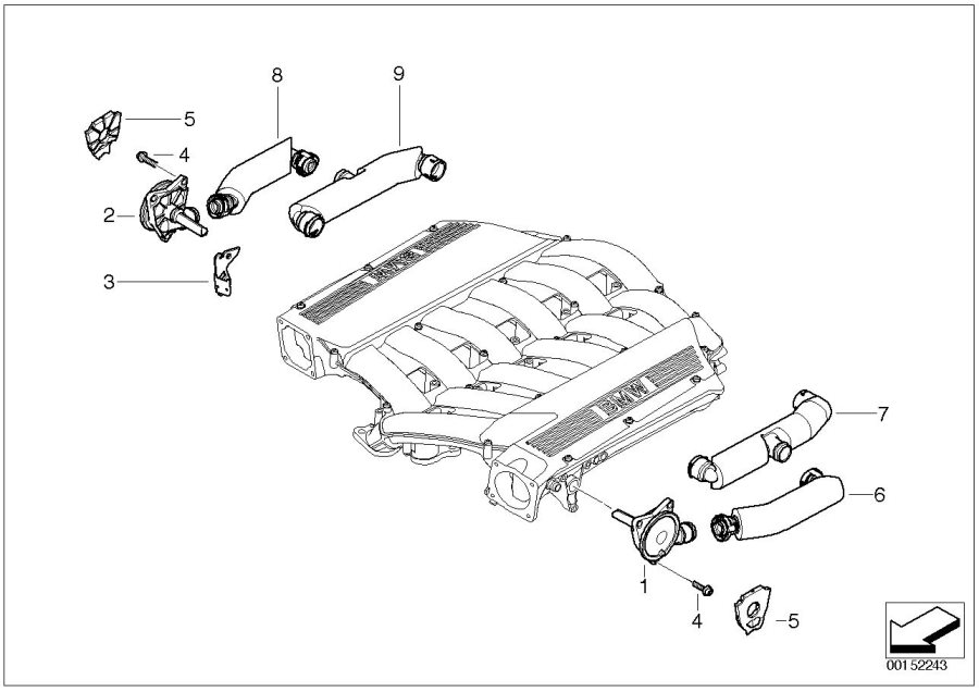 bmw m60 engine wiring harness diagram