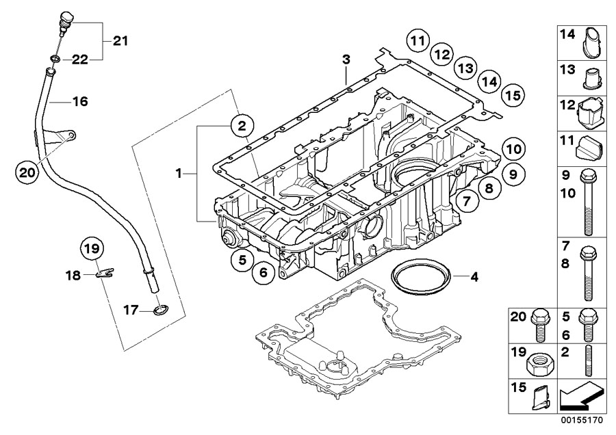 bmw engine diagram 745li 2003