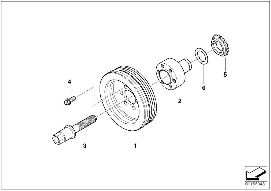 2004 330i engine diagram m