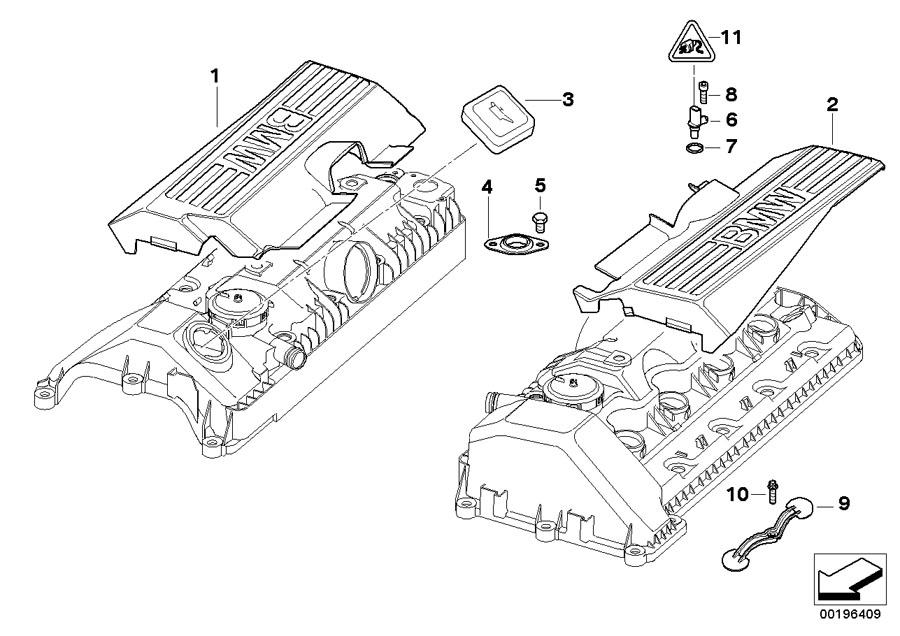 bmw 750li engine diagram