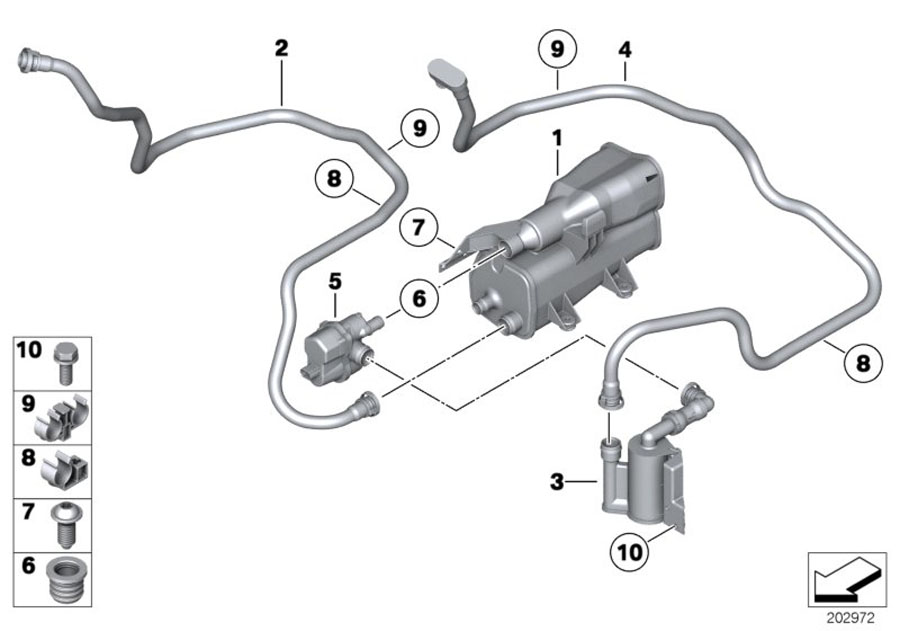 bmw fuel filter leak