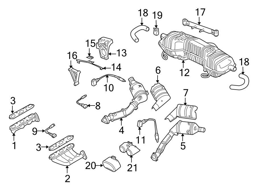 2000 porsche boxster Motor diagram