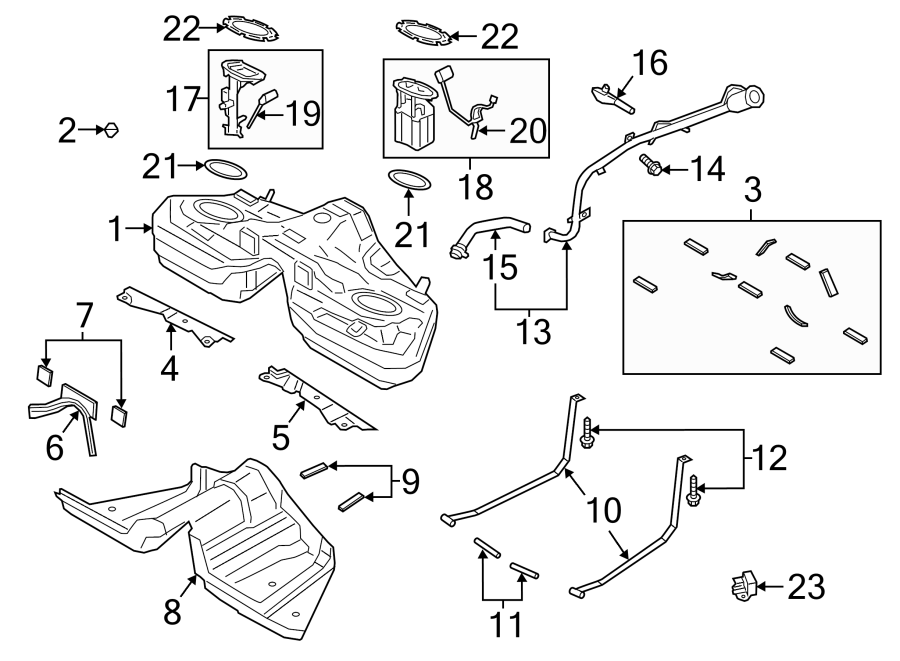 1999 ford mustang fuel system diagram