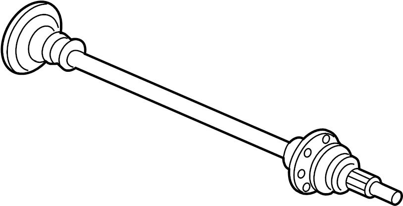 jaguar axle shaft