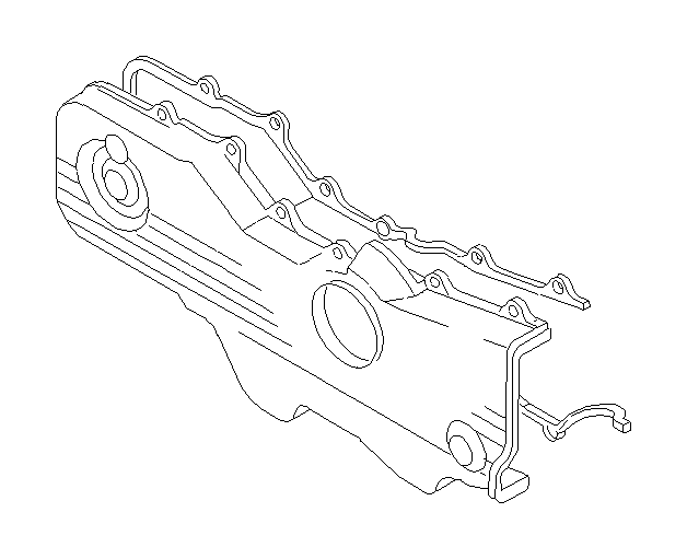 subaru timing belt cover