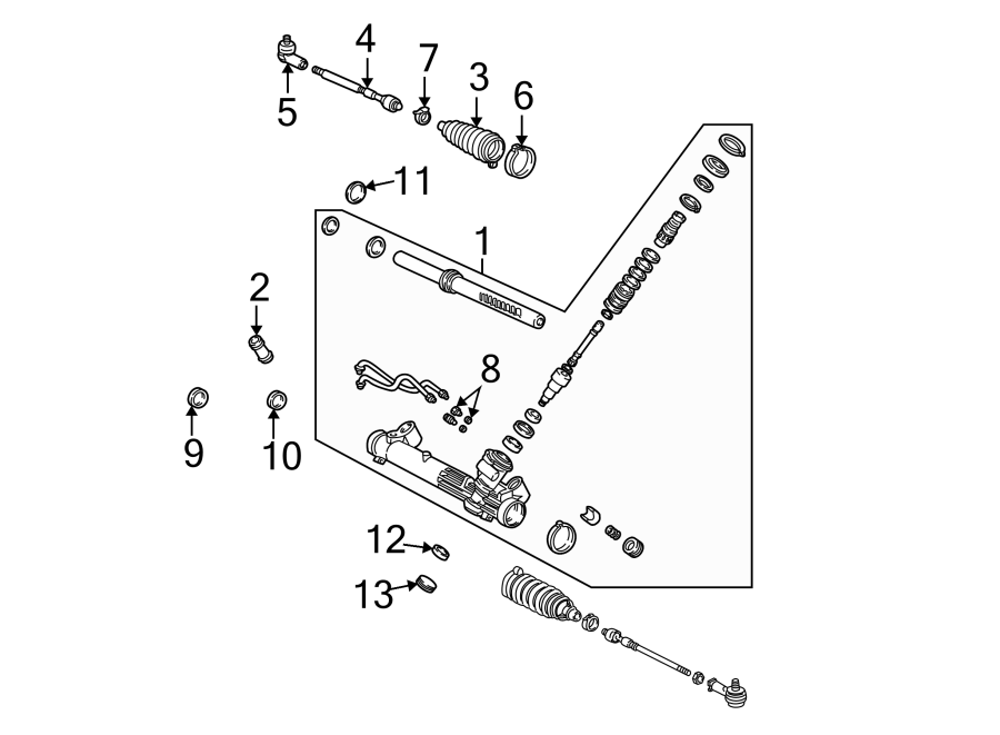2016 ford focus steering parts diagram html