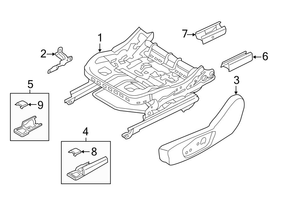 ford fusion power seat wiring