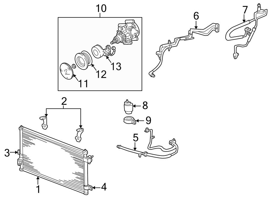 2005 ford thunderbird Motor diagram