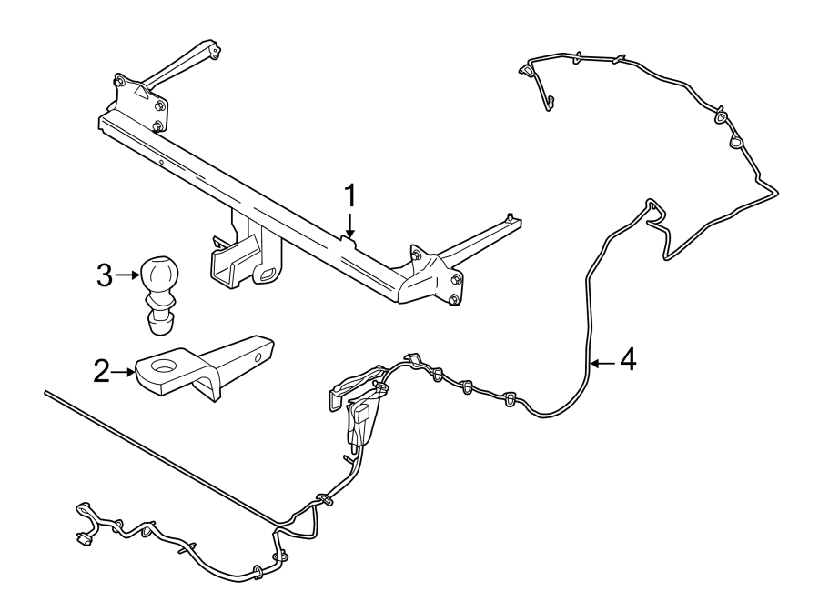 cargo trailer wire harness