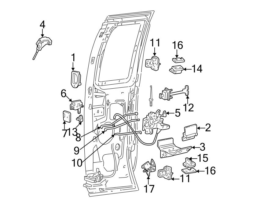 door latch door latch mechanism diagram