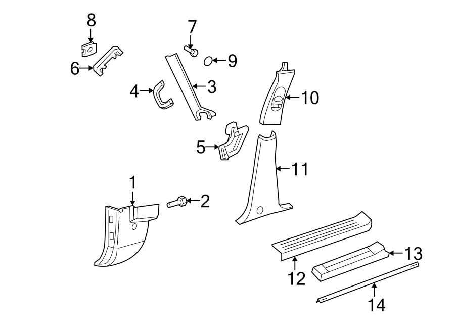 diagram for ford 2003 explorer liftgate