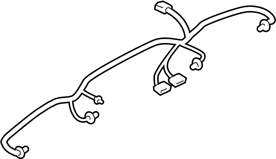 ford wire harness retainer