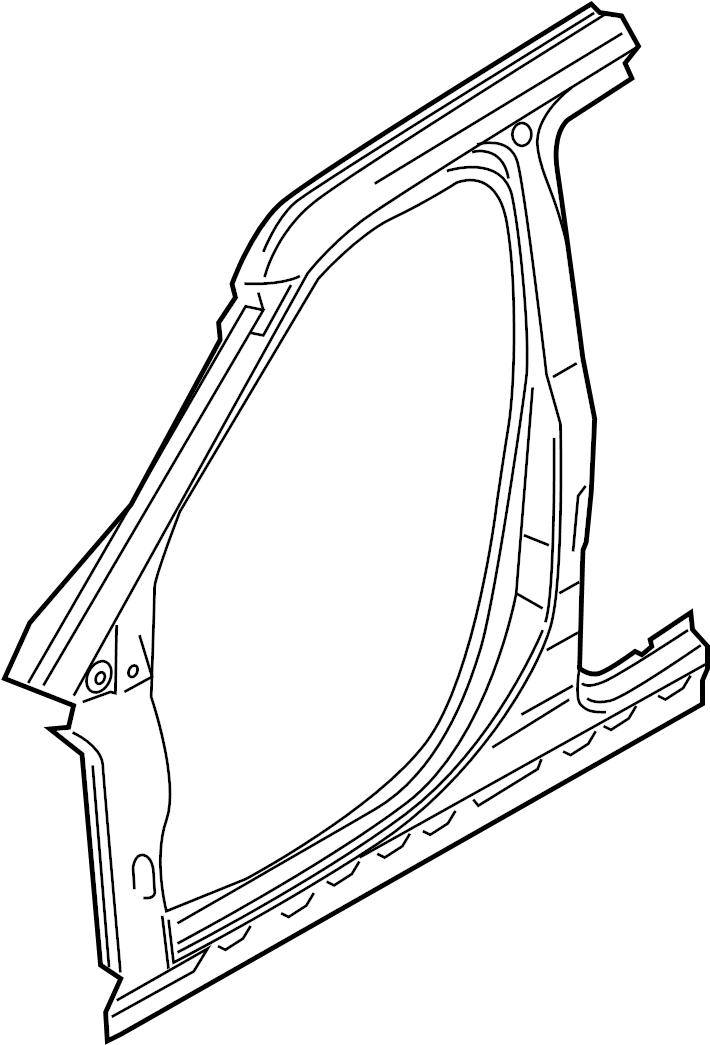 utility door frame diagram