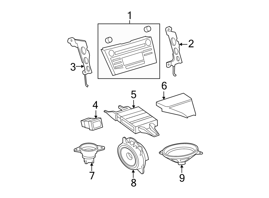fujitsu parts diagram
