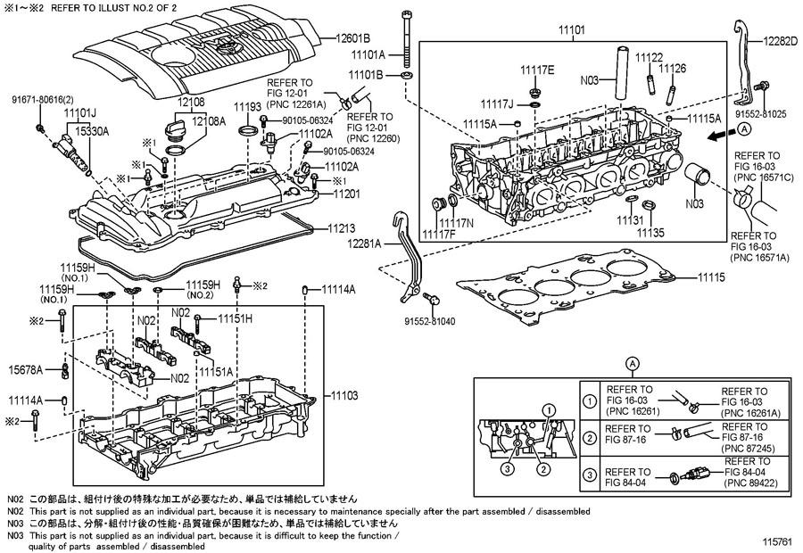 toyota tacoma spark plug diagram