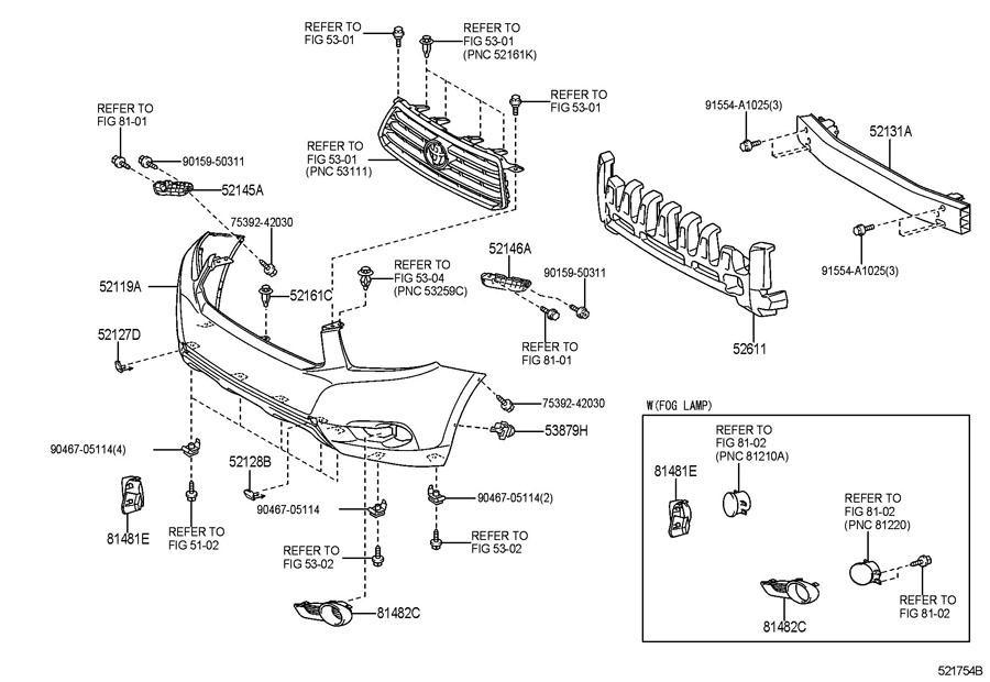 toyota brakes diagram