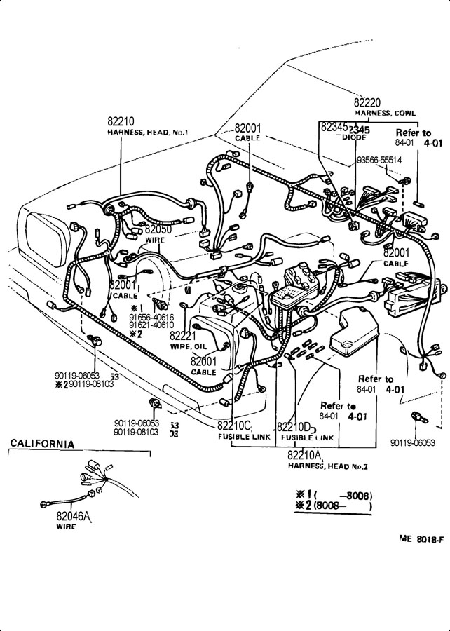 wiring diagram corolla dx