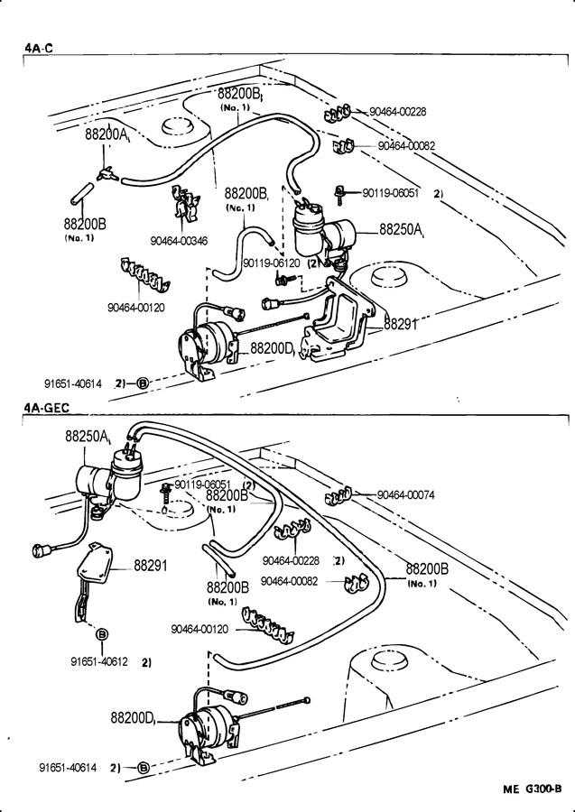 toyota corolla ae86 wiring diagram