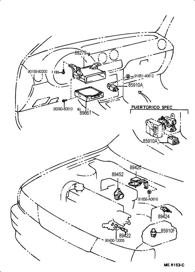 1983 toyota tercel engine diagram