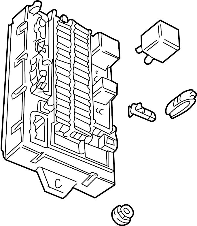 2003 land rover lander fuse box