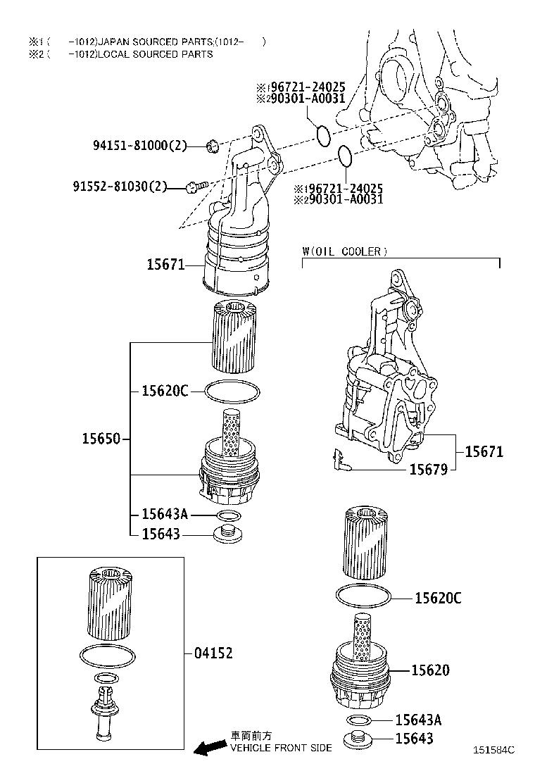lexus hs 250h diagram of engine
