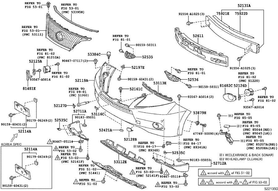 lexus remote starter diagram