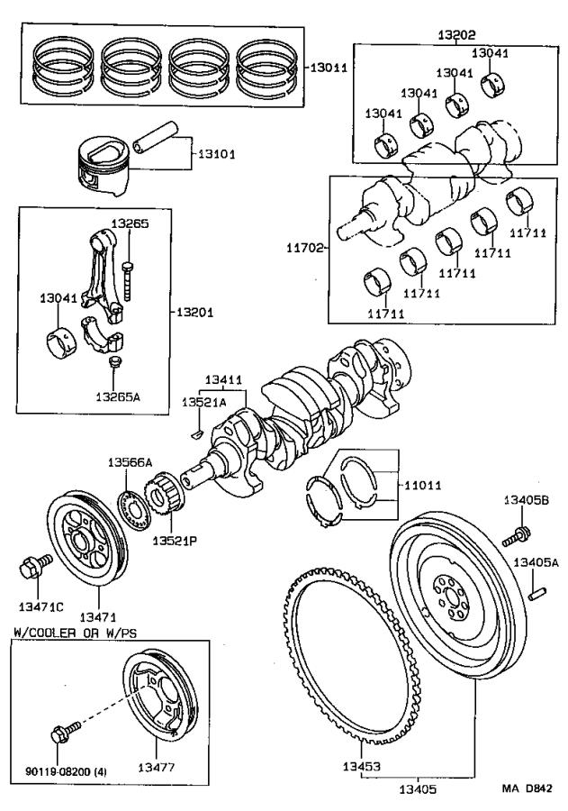 91 toyota tercel engine diagram