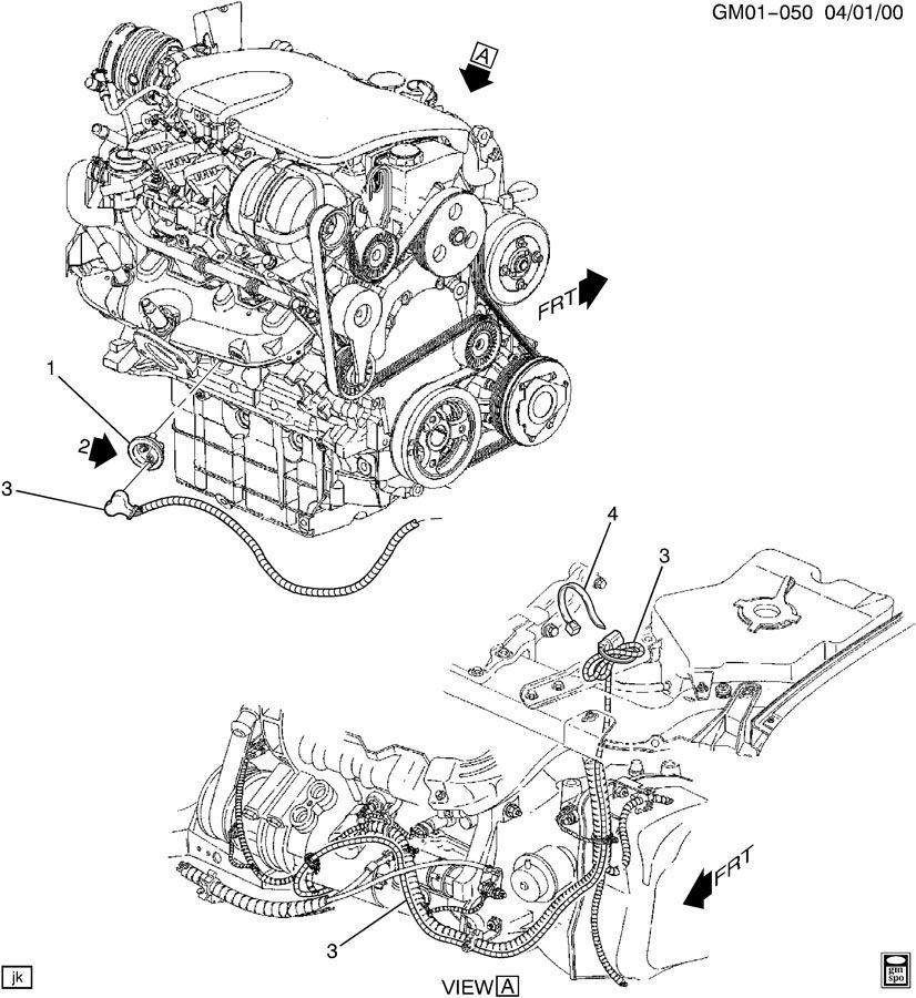 2004 buick rendezvous engine diagram