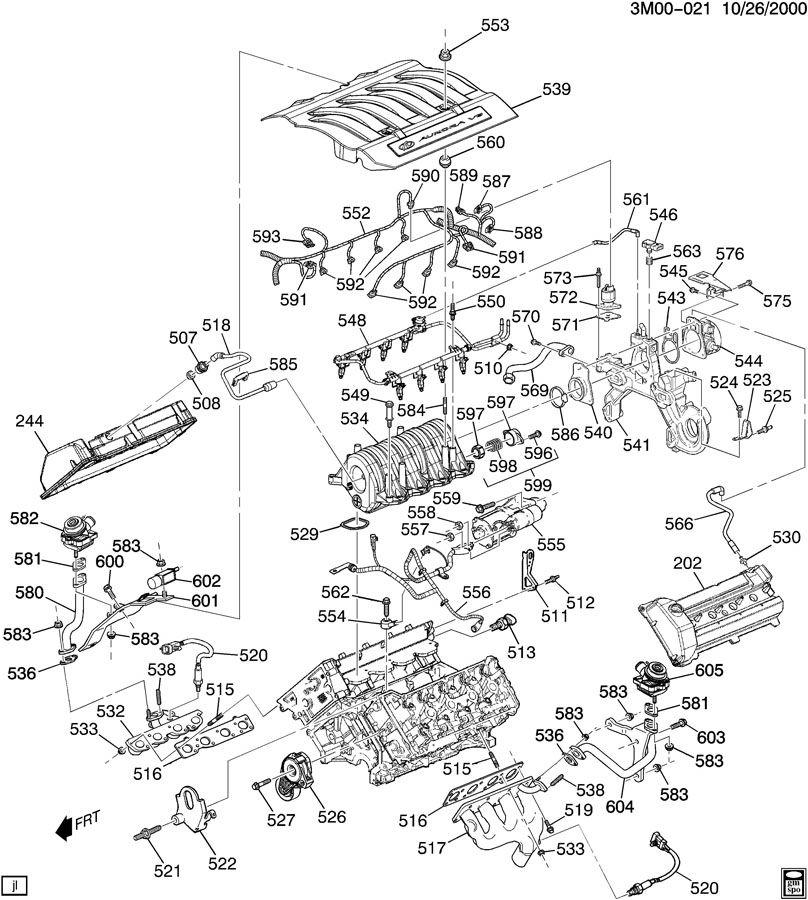 2000 cadillac seville sls engine diagram