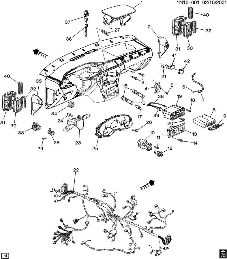 92 deville fuse diagram