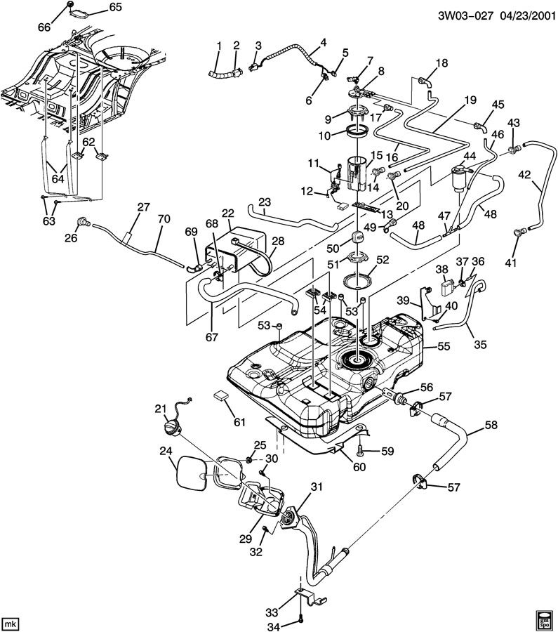 03 alero wiring diagrams
