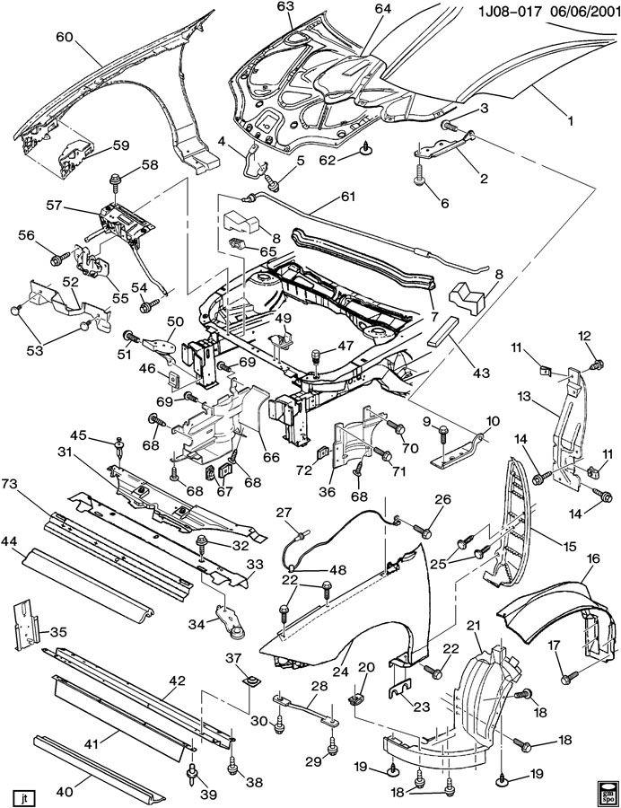 96 chevy cavalier engine diagram