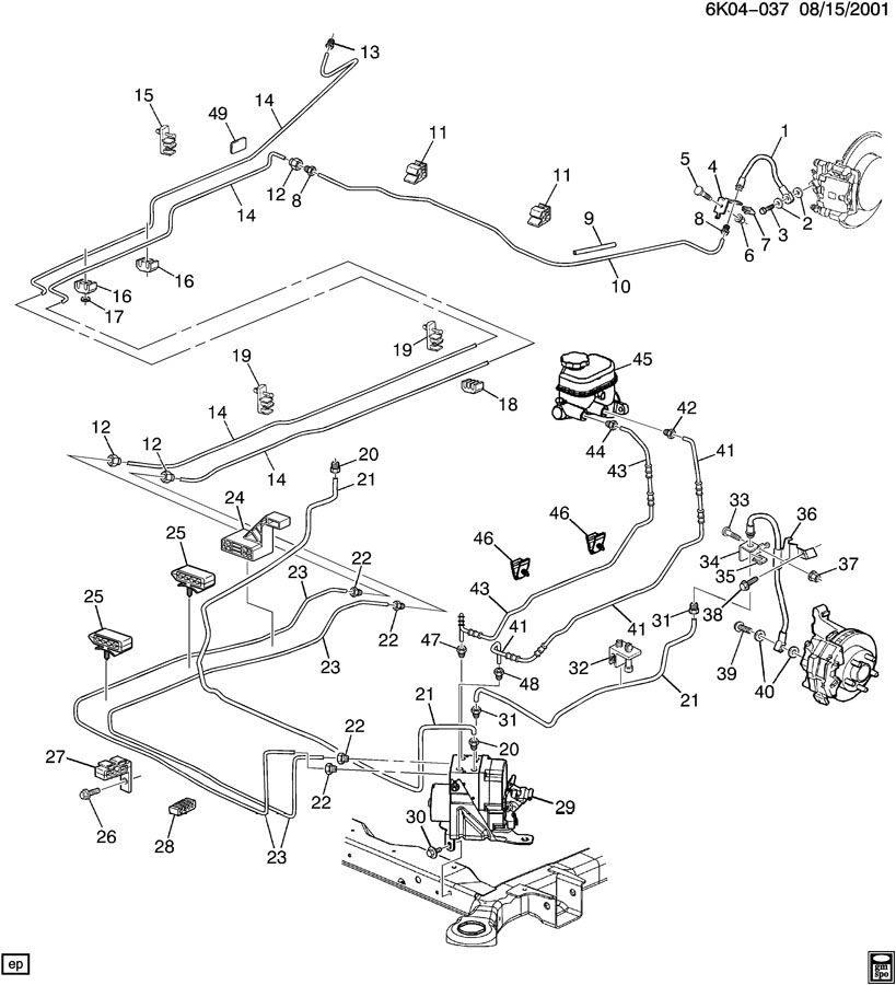 silverado abs brake line diagram wedocable