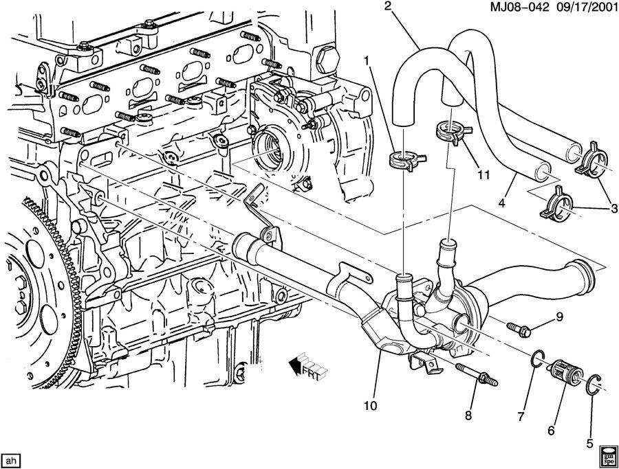 2002 chevy cavalier belt diagram