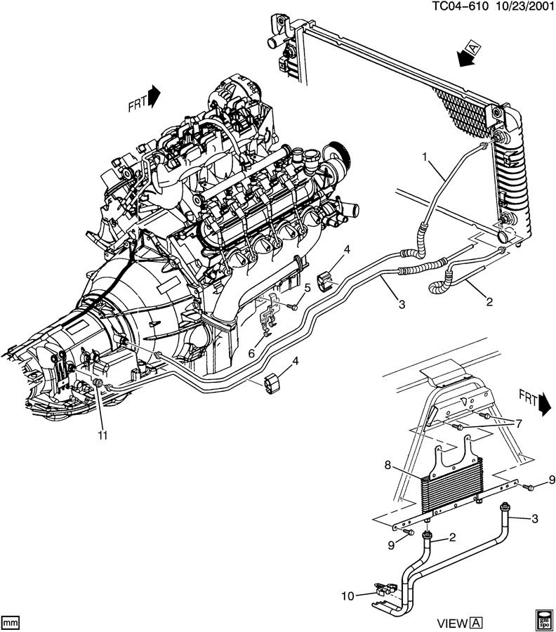 chevrolet 4l60e transmission diagram